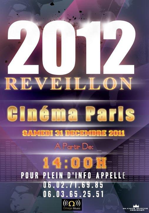 2012 REVEILLON  Cinéma Paris 31/2011