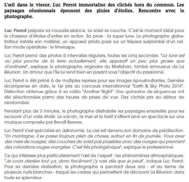 La Réunion par Luc Perrot