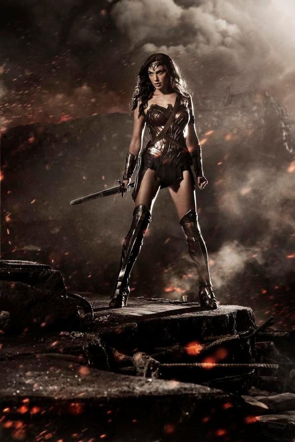 Première photo de Gal Gadot en Wonder Woman