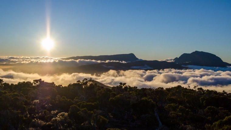 Photos de la Réunion et de sa voute céleste par Luc Perrot