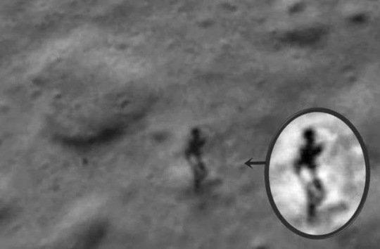 Une ombre étrange sur la Lune!
