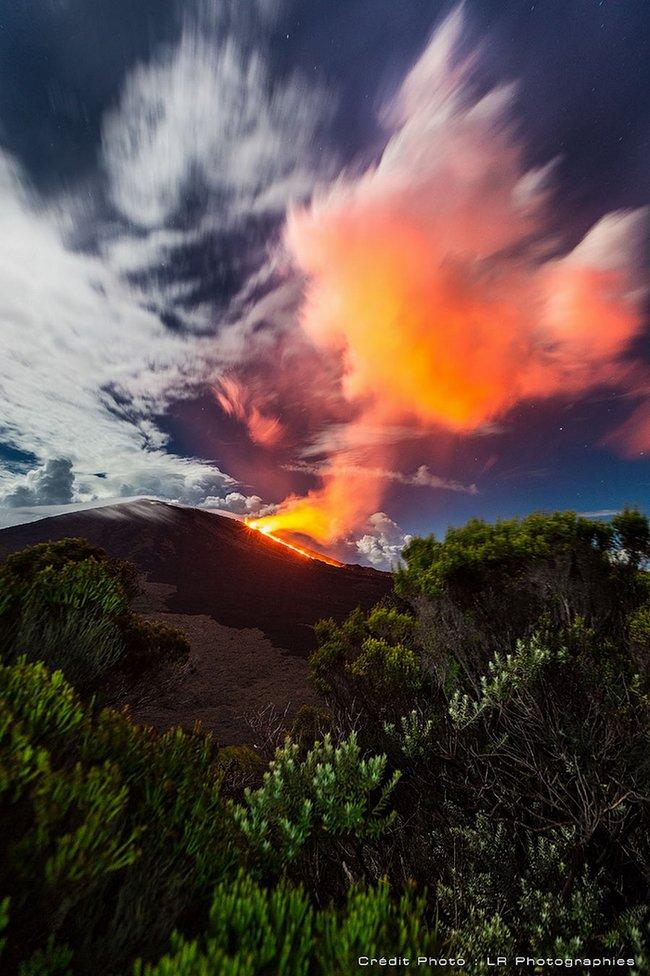 Piton de la Fournaise - Éruption de Février 2015
