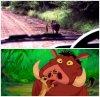 Timon et Pumbaa existent donc réellement! ^^