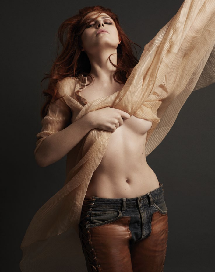Élodie Frégé © Hipster Magazine
