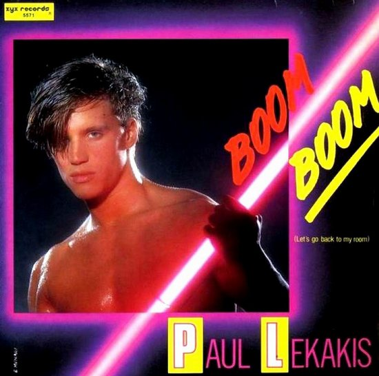 Paul Lekakis - Boom Boom (Let's Go Back To My Room)