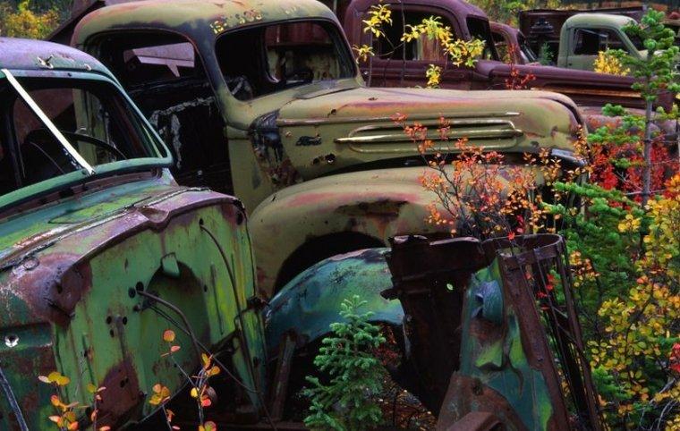 Des lieux abandonnés fascinants!