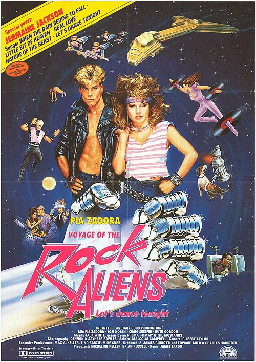 """Voyage Of The Rock Aliens"" B.O."
