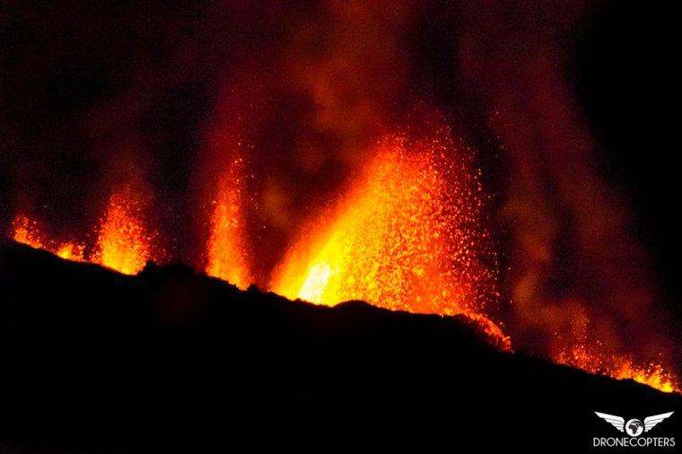 La Fournaise en éruption - Mai 2015