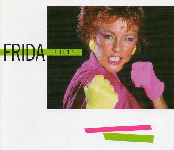 SHINE - ALBUM SOLO DE FRIDA (EX-ABBA) EN 1984