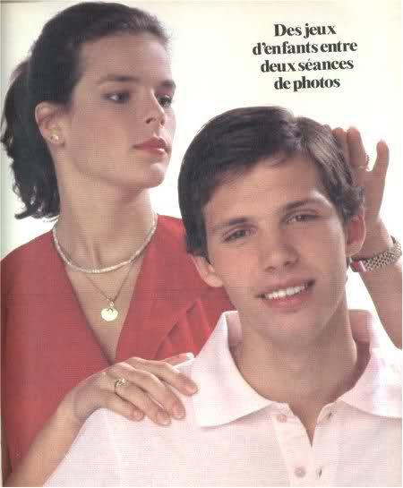 Fleurs du mal - Stéphanie de Monaco (1987)