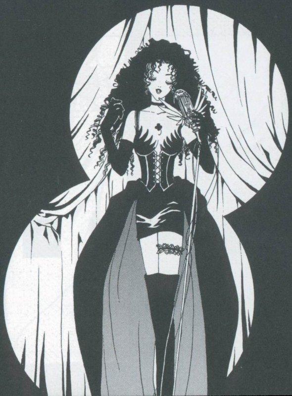 Citation personnelle ~ Illustration du manga Clover de CLAMP