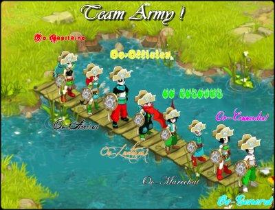 Team Army au garde à vous !