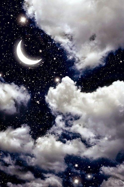 J'aime la nuit, tu sais. Elle me fait me sentir bien. La nuit est propice aux confidences, aux moments d'intimité.  J'aime sentir le soleil sur ma peau et contempler le ciel bleu en été, mais j'aime encore plus voir la lueur de la lune, dans tes yeux se refléter.   ● ✦ ●