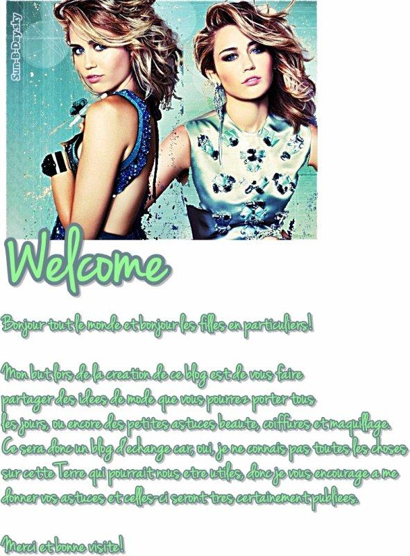 *Bienvenue!*