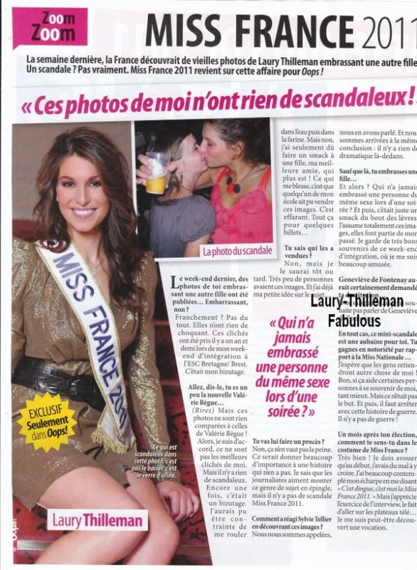 ♥Laury Qui Répond A Une Interview , Auprès De La Photo Sois-Disant Scandale (Qui Ne L'Est Pss Du Tout)  ..