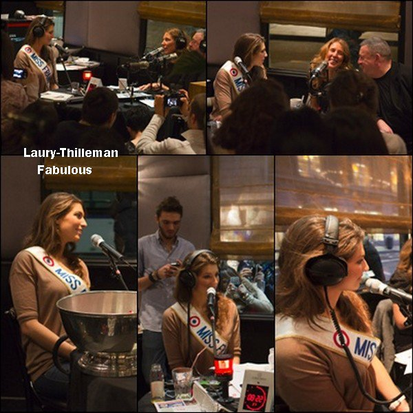 ♥Laury Etait Invitée Au Grand Morning Sur RTL2.  ..  ..