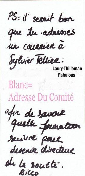 ♥LauryQui m'a envoyé sa lettre. Sur Le Coup quand j'ai vue la lettre , j'ai crié , sauter de joie ... Laury Est Magnifique , Sublime Et Elle a Une très Jolie Ecriture !