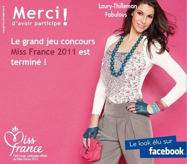 Miss France 2011 Laury  Qui Avait Posé Pour Defi-Mode . Voici La  Sublime Tenue Qui A Ete Retenue. Elle Vas Extraordinairement Bien A Notre LAURY Chéryyyy
