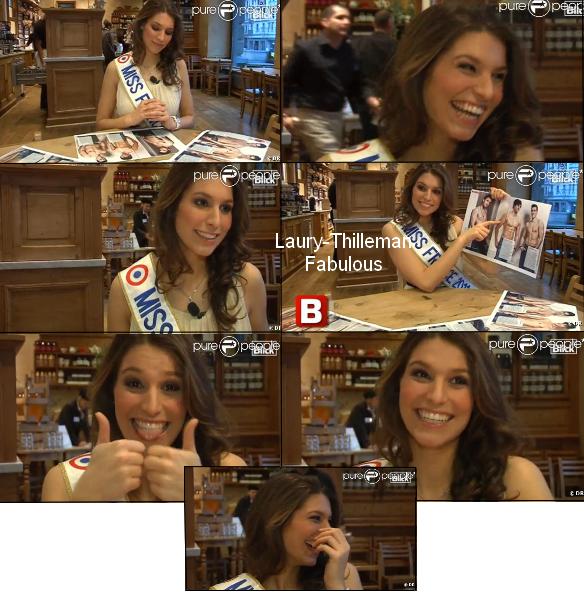 Miss France 2011 Laury  A Geneve , Qui Se Situe En Suisse , Pour Atout France . LAURY (l)