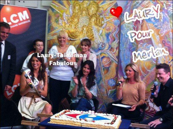 Miss France 2011 Laury Etait En Soirée a La Projection 3D De LG(voir les trois premières photos). LAURY Etait Egalement Mercredi Dernier, A Marseille, Pour Fêter L'Anniversaire Du Centre Commercial Merlan.