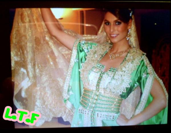 Miss France 2011 Laury  Etait A Casablanca (Maroc) Pour Fêter La 6ème. Edition Du Ramadan. (l)
