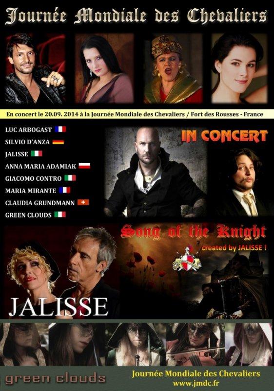 Les concerts à la Journée Mondiale des Chevaliers