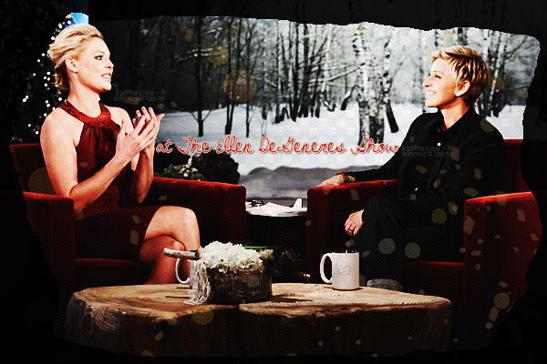 """7 Décembre - Katherine était l'invitée du Ellen DeGeneres Show diffusé le mercredi 7 décembre sur la chaîne américaine NBC. Katie a évoqué l'aggrandissement de sa famille, elle a dit vouloir d'autres enfants, """"au début j'en voulait 6, mais maintenant nous penchons plus pour 3-4, ce serait mon idéal... C'est toujours un grand nombre, n'est ce pas ? Bon. Peut être 2."""" Dans la vidéo de l'interview on peut voir les photos de la fête d'anniversaire de Naleigh.  tu prends tu crédites !"""