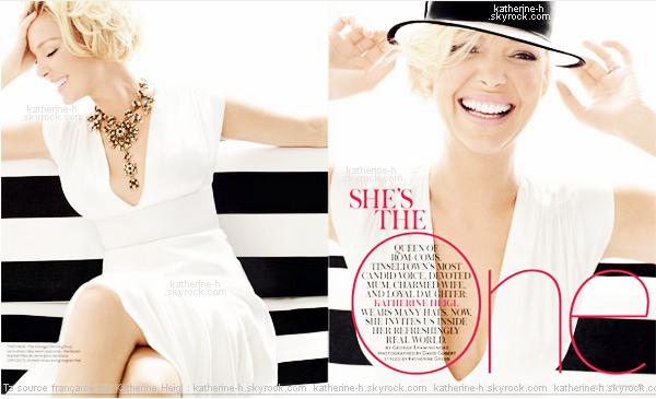 L'année dernière, Katherine nous informait qu'elle faisait un shoot pour InStyle Australie et même qu'elle avait posté quelques photos clique, quelques mois plus tard on retrouve une Katherine resplandissante sur la couverture du numéro de Février 2012 du magazine !  Les photos sont magnifiques j'adore !