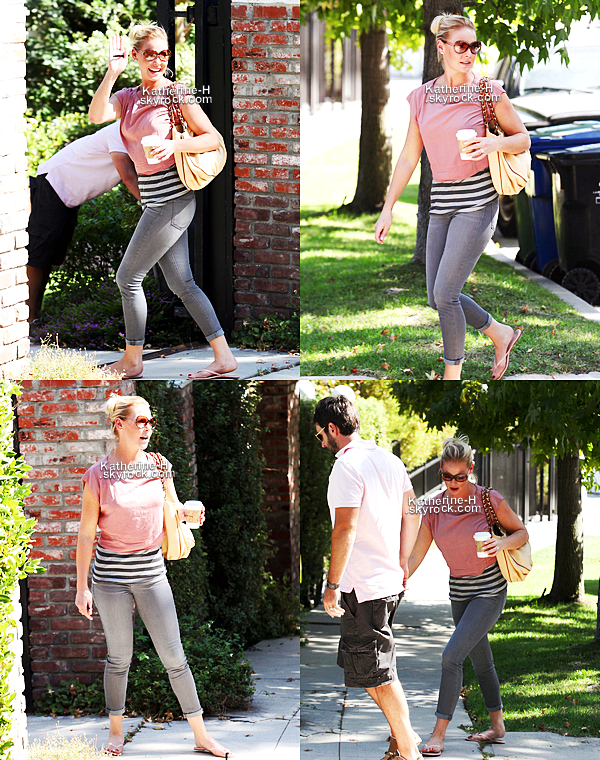 7 Septembre - Katherine s'est rendue à un déjeuné d'affaire à Glendale.