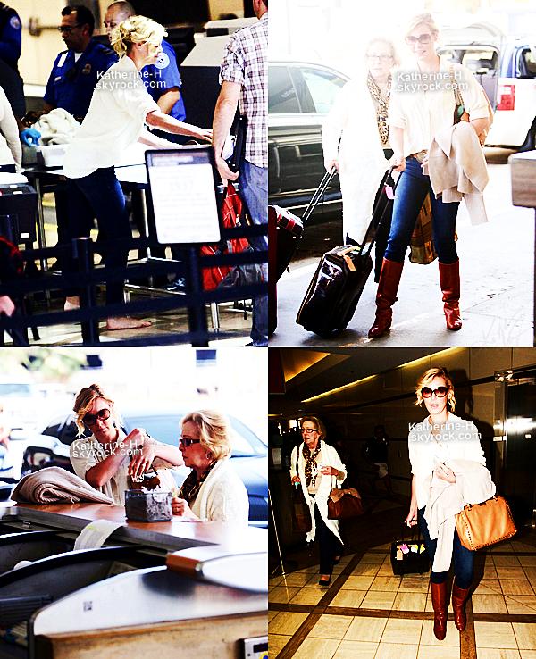 9 Octobre - Kathrine et Nancy ont ete vues à LAX Airport où elles ont pris un vol direction l'Utah.
