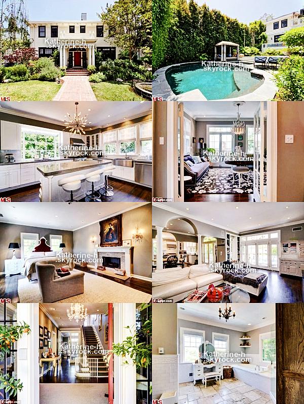 La maison de la famille Kelley-Heigl à Los Feliz est mise en vente pour la somme de 2.7 millions de dollars.