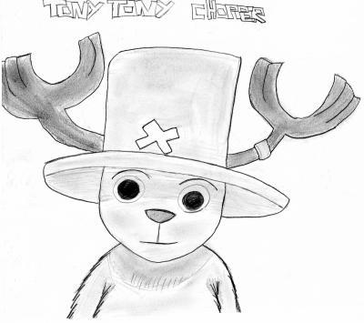 Dessin De Tony Tony Chopper Tous Sur One Piece