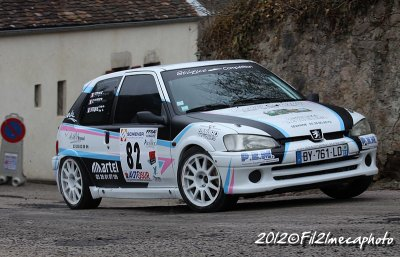 Rallye de l'Avallonnais 2012