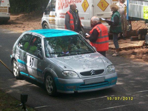 Course de cote de Lormes 2012