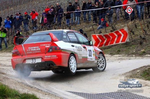 Rallye Epernay Vins de Champagne 2013 : Les résultats
