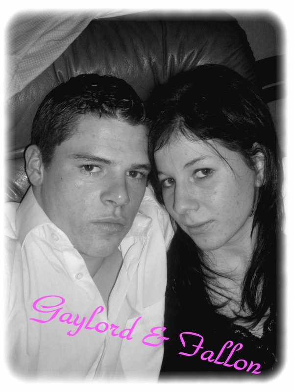 Ma fille Fallon et son Copain Gaylord