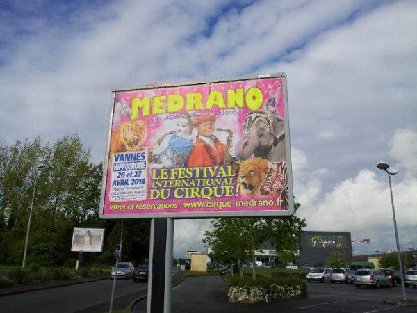 Le grand cirque Medrano !