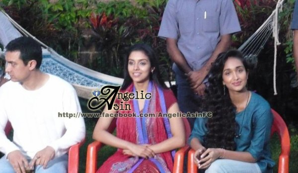 Rare spotted pics of Asin