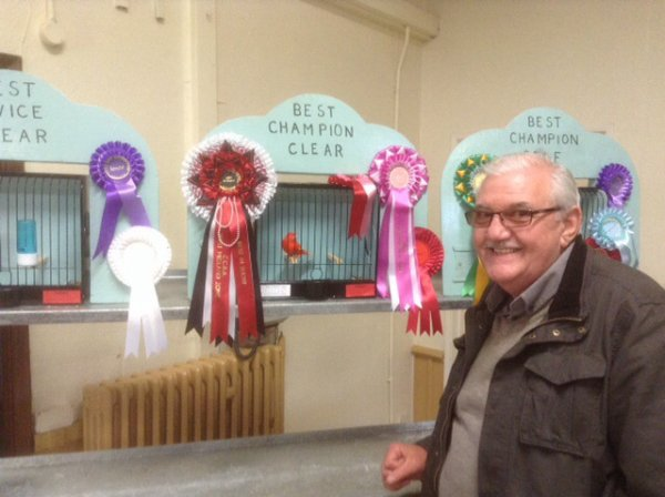 MY BEST IN SHOW AT THE WEST MIDLAND ZONE CCBA SHOW