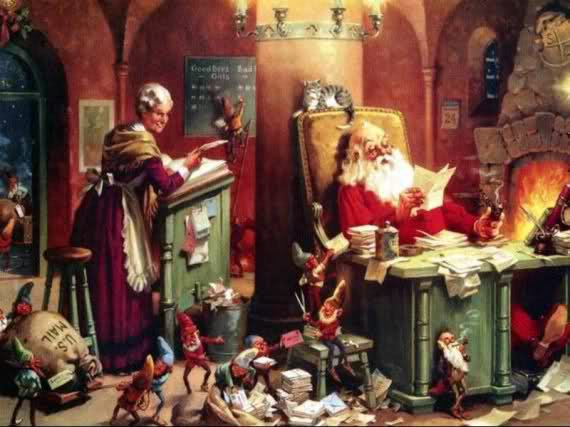 """Une autre """"Véritable"""" histoire du Père Noël"""