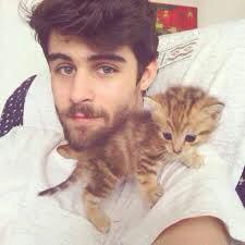Pablo et son chaton