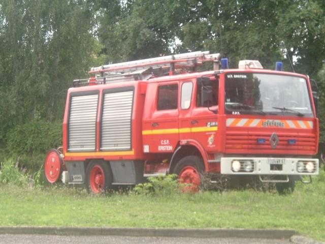 Les pompiers de France