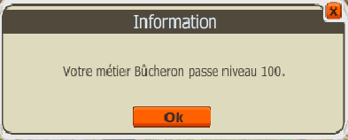 Up bucheron enfin