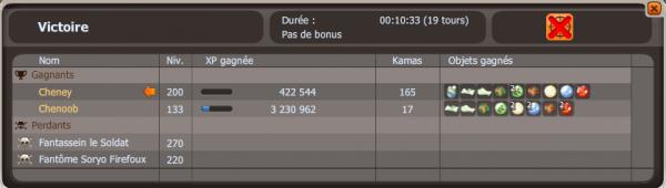 Dolmanax et Week-end double XP sur Sumens