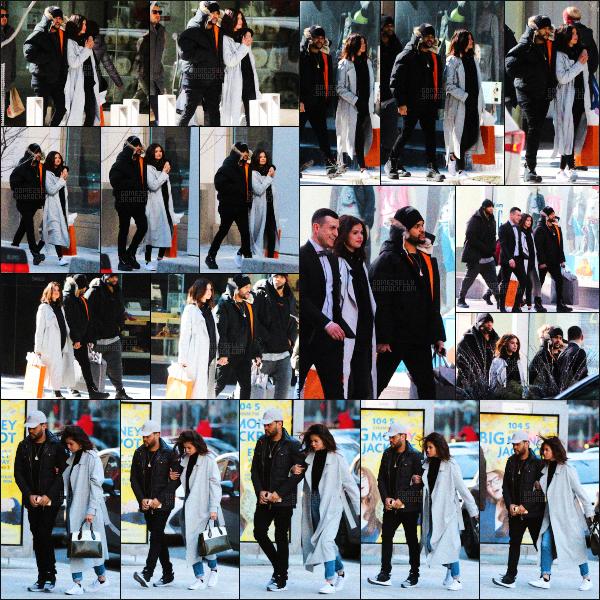 ..  16/03/2017• Selena G.a été aperçue avec son boyfriend Abel se rendant dans un restaurant à Toronto. Selena Gomez et son petit ami se sont retrouvés pour se rendre au Blowfish Restaurant au Canada. Côté tenue, top pour notre belle. .