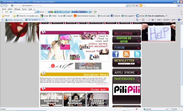 Billy-the-GeeK au Toulouse Game Show Ohanami 2011 le dimanche 10 l'après-midi ! WAH !
