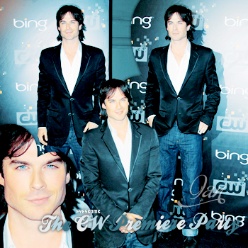 ➜ Ian & le cast In The CW Premiere Party EyesBomb.Skyrock.com lTextel.lCréationl.lDécorationl.lInspi Décorationl.
