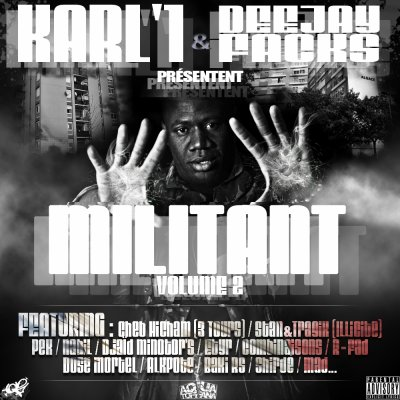 karl'1 & dj facks presentent millitant vol 2