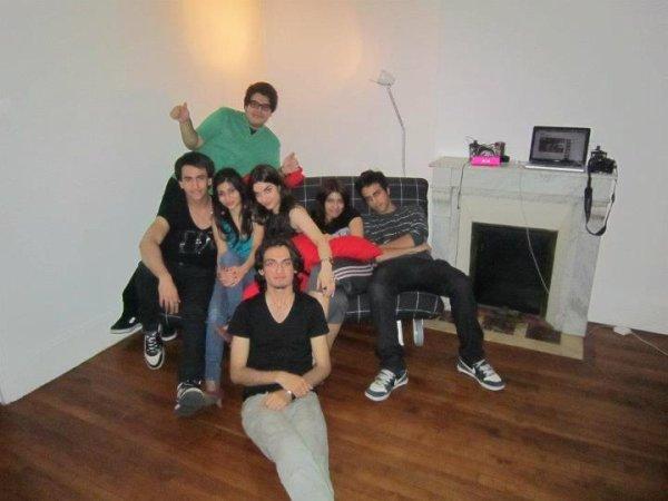 Sirée Fête avec mes amis :-) 2012