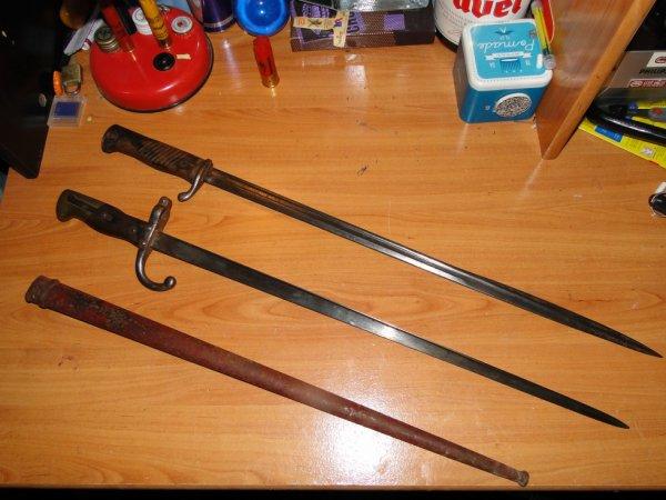 Baionette GRAS et Baionnette SUHLL
